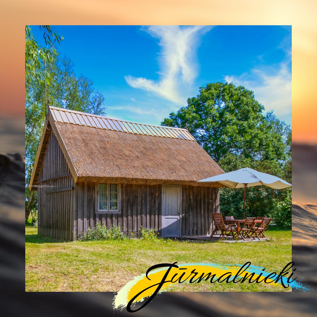 trivietis namelis jurmalnieki vasaros atostogos nuoma prie baltijos juros